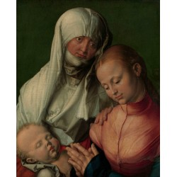 The Virgin and child with St.Anne,Albrecht Durer,50x40cm
