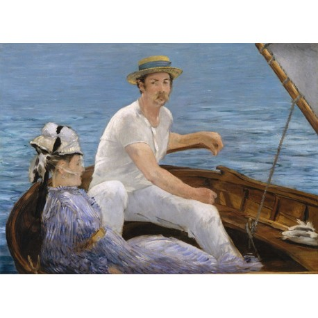 Boating,Edouard Manet,38x51cm