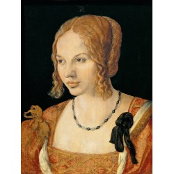 A Young lady of Venice,Albrecht Durer,50x38cm