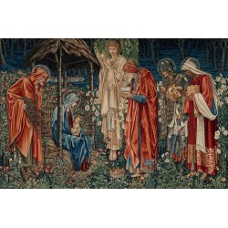 The adoracion of the three Kings,Edward Burne-Jones,60x40cm