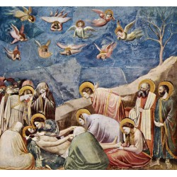 Bewening of Christ,Giotto,50x46cm