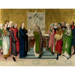 The Presentation in the Temple,master of saint gilles,50x38cm