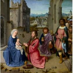 The Adoration ofthe Kings,Gerard David,60x59.2cm