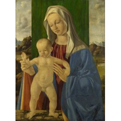 The Virgin and Child,Marco Basaiti,62.9x47cm