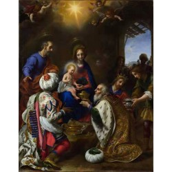 The Adoration of the Kings,Carlo Dolci,50x40cm