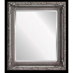 Wooden frame in silver color, 20x24 ins