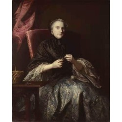 Anne,Second Countess of Albemarle,Joshua Reynolds,50x40cm