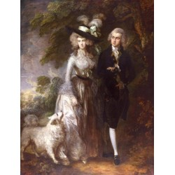 Mr.and Mrs.William Hallett,Thomas Gainsborough,50x38cm