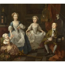 THe Graham Children,William Hogarth,50x44cm