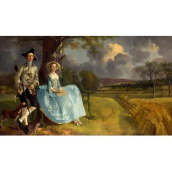 Mr and Mrs. Andrews,Thomas Gainsborough,60x35cm