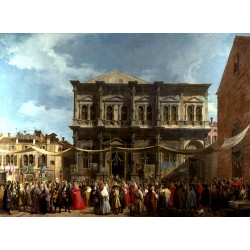 Venice The Feast Day of Saitn Roch,Canaletto,50x37cm