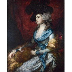 Mrs.Siddons,Thomas Gainsborough,50x40cm