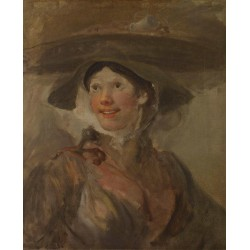 The Shrimp Girl,William Hogarth,50x40cm