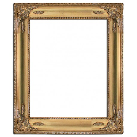 Heavy frame in solid wood, 40x50 cm
