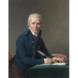 Portrait of Jacobus Blauw,Jacques-Louis David,50x40cm