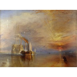 The Fighting Temeraire Tugged to Her Last,J.M.W. Turner,50x37cm