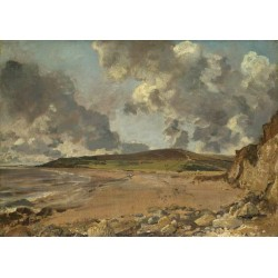 Weymouth Bay Bowleaze Cove and Jordan,John Constable,50x35cm
