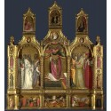 Polyptych of the Ascension of Saint,Giovanni dal ponte,50x46cm