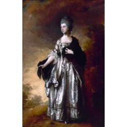 Isabella,Viscountess Molyneux,Thomas Gainsborough,60x40cm