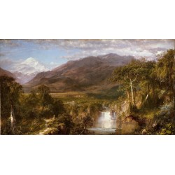 Heart of the Andes,Frederic E.Church,80x40cm