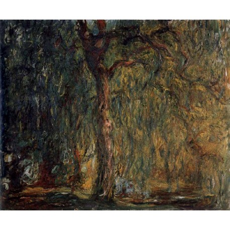 Weeping Willow,Claude Monet,60x50cm