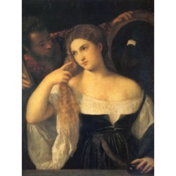 A Woman at Her Toilet,Titian, 40x50 cm