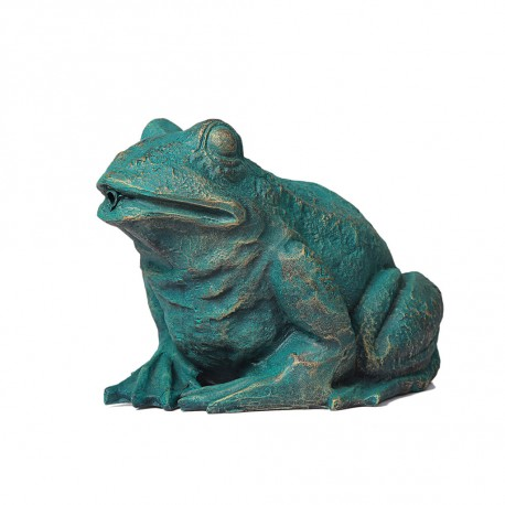 Frog, fountain for your garden 31x24x21 cm