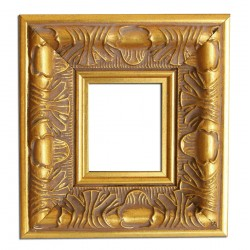4,5x5,5 cm or 1 7/8 x 2 1/4 ins, wooden photo frame