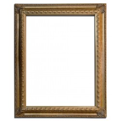24x36 ins Wooden frame in golden color