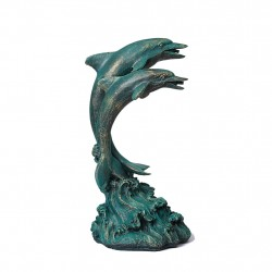 Dolphin, fountain for your garden 27x23x51 cm