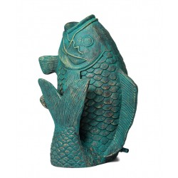 Fish, fountain for your garden 25x25x35 cm