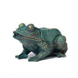Frog, fountain for your garden 21x14x11 cm