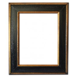 40x50 cm or 16x20 ins, wooden frame