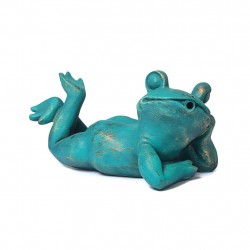 Frog, fountain for your garden 26x14x14 cm