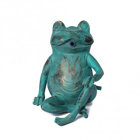 Frog, fountain for your garden 21x18x20 cm