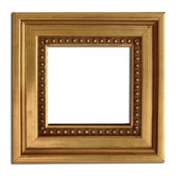 5,5x5,5 cm or 2 1/4x2 1/4 ins, wooden photo frame