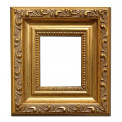 6x7 cm or 2 3/8 x 2 7/8 ins, wooden photo frame