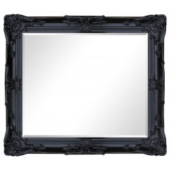 Beveled mirror in solid wood 108x138 cm or 43x57 ins