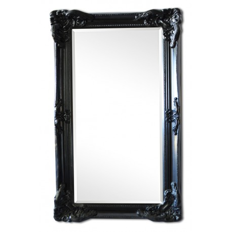 44x32 ins or 108x78 cm, beveled mirror in solid wood