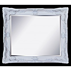 Beveled mirror, out size 108x138 cm