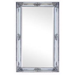 Beveled mirror, out size 76x106 cm